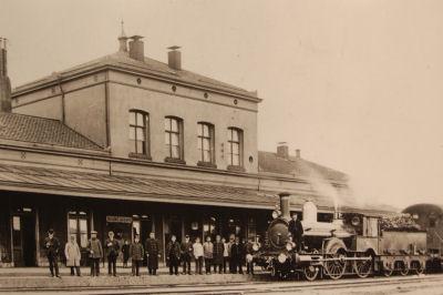 oud treinstation