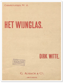 Dirk Witte - wijnglas