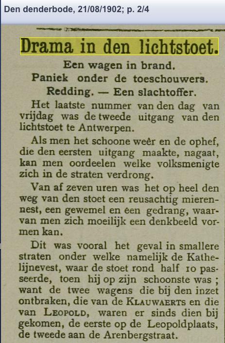 DE DENDERBODE 19-8-1902