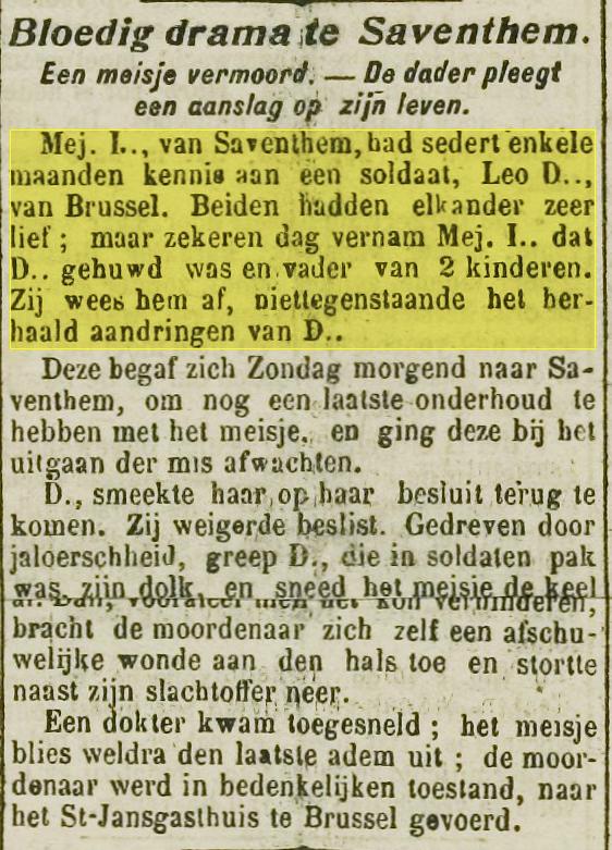 """uit: """"De Volksstem"""", 13 april 1920"""